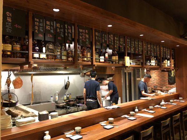 路地 食事処 國軍英雄館 光榮碼頭 地爐料理 日式居酒屋 特別的米棒味噌燒 好吃的山苦瓜烤豚肉 附菜單
