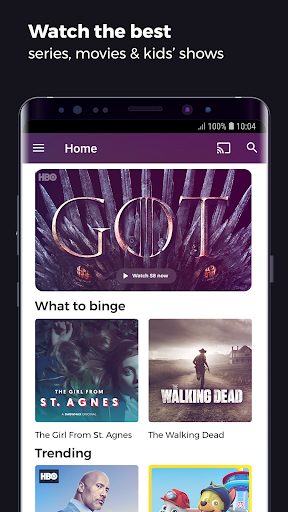 Showmax - Watch TV shows and movies screenshots 1