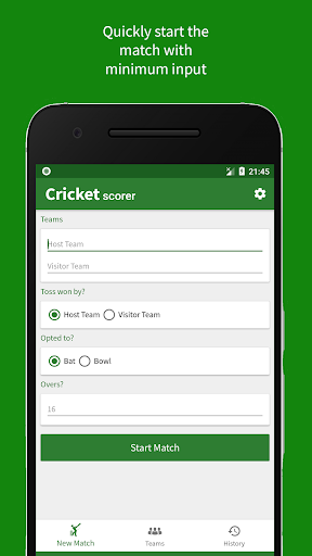 Cricket Scorer 2.0.0 screenshots 1