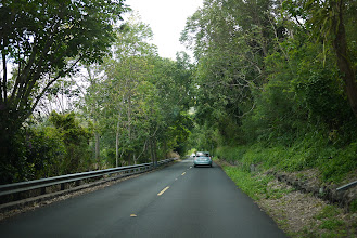 Photo: Driving up Tantalus/Round Top