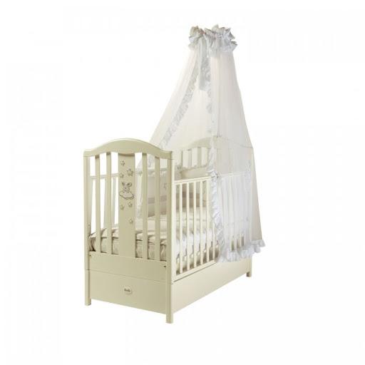 Детская кроватка FMS Romance продольный маятник Feretti 25383 купить