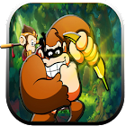 Gorilla Jungle Monkey Bananas * Gorilla Rush * icon