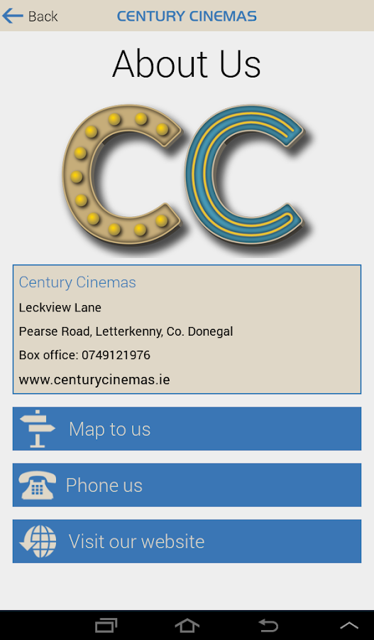 Century Cinemas- screenshot