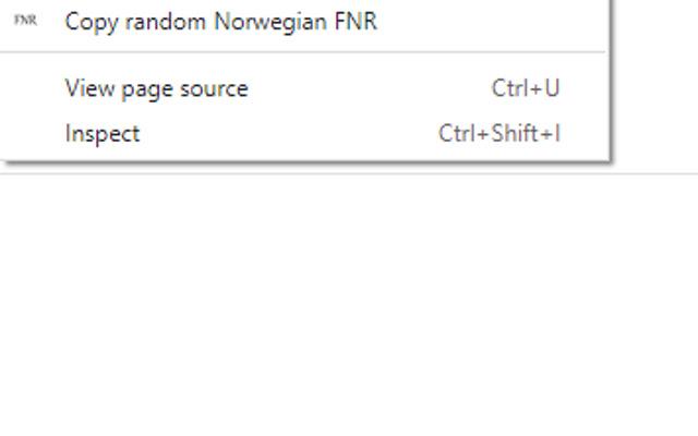 Norwegian National Identiy Number Generator