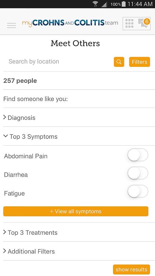 Crohn's and Colitis Support- screenshot