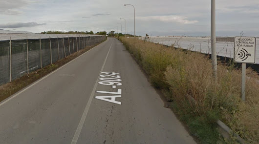 Captura de pantalla de Google Maps de la carretera en la que ha ocurrido el accidente.