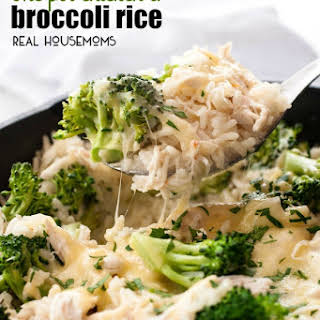 One Pot Chicken and Broccoli Rice.