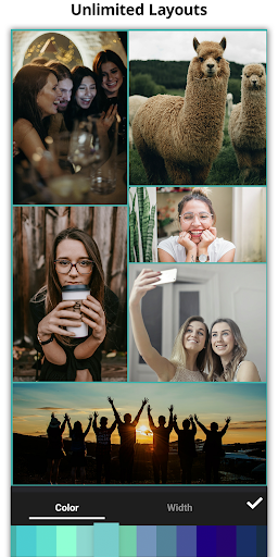 Gandr — A photo collage maker without limits screenshot 1