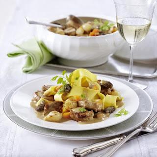 Pork and Wild Mushroom Stew.