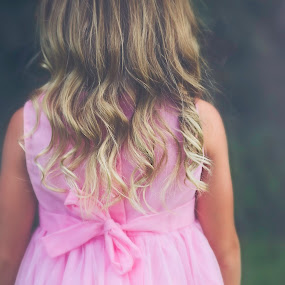 Into the shadows by Maria Lucas - Uncategorized All Uncategorized ( pink, childhood, beauty, wonder, curls, child,  )