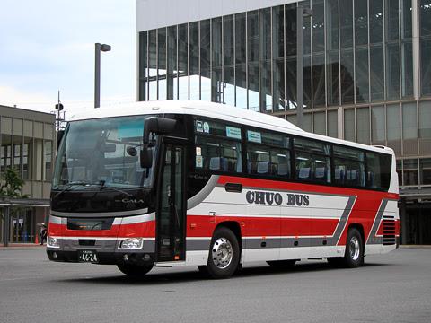 北海道中央バス「高速あさひかわ号」 4624