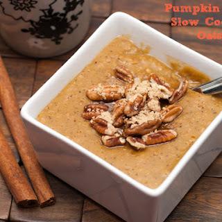 Pumpkin Latte Slow Cooker Oats.