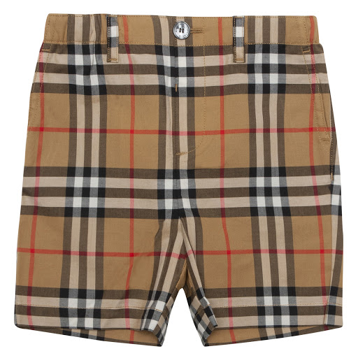 Primary image of Burberry Baby Vintage Check Shorts