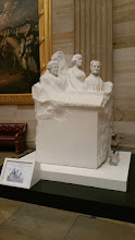 Photo: This statue commemorates Elizabeth Cady Stanton, Susan B. Anthony, and Lucretia Mott - leaders of the women's suffrage movement.  Given as a gift in 1921 - http://www.aoc.gov/capitol-hill/other-statues/portrait-monument