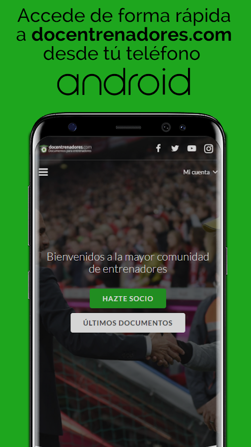 DocEntrenadores- screenshot