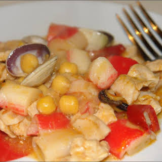 Surimi Turkey Stew.