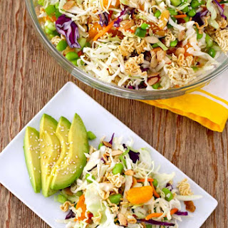 Crunchy Asian Ramen Noodle Salad.