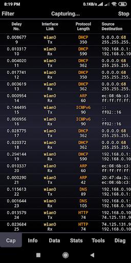 Sniffer Wicap 2 Demo 2.5.7 screenshots 2
