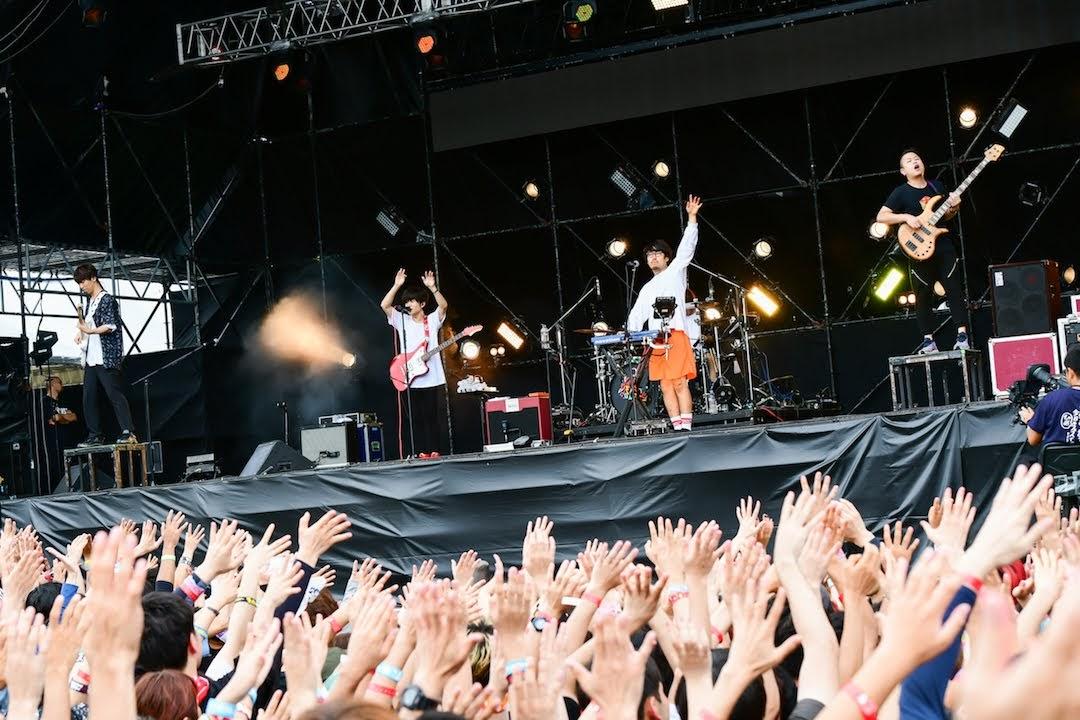 【迷迷現場】PIA 音樂祭 キュウソネコカミ  (窮鼠猫噛)領全場大跳盂蘭盆舞