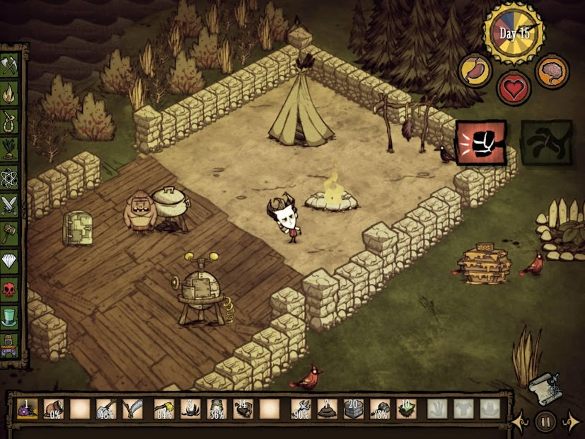 Don't Starve: Pocket Edition Android App Screenshot