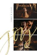 Jesse & James Wedding - Postcard item