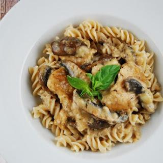 Mushroom Parmesan Chicken