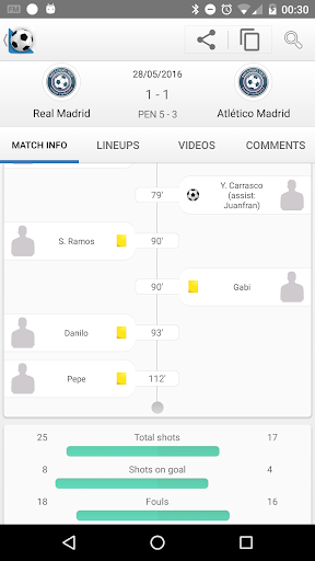 Football Live Scores 1302.0 screenshots 2
