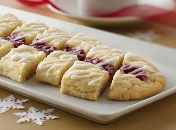 Raspberry Ribbon Slices Recipe