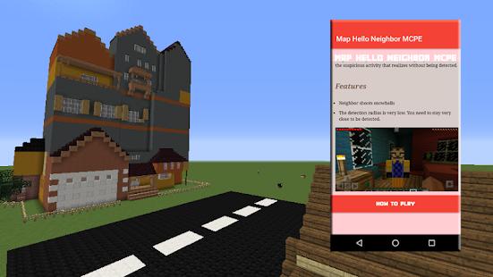 Map Planepath For Pubg 1 6 1 Apk: Map Hello Neighbor For MCPE Mod Apk