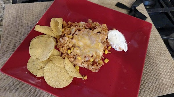 Mexican Chicken And Brown Rice Casserole Recipe