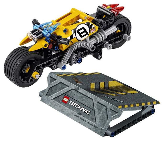 Contenido de Lego® 42058 Moto Acrobática