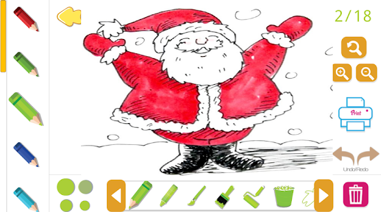 CHRISTMAS TODDLER COLORING BOOK - náhled