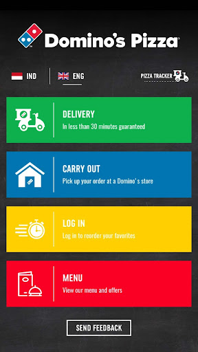 Domino's Pizza Indonesia - Home Delivery Expert screenshots 1