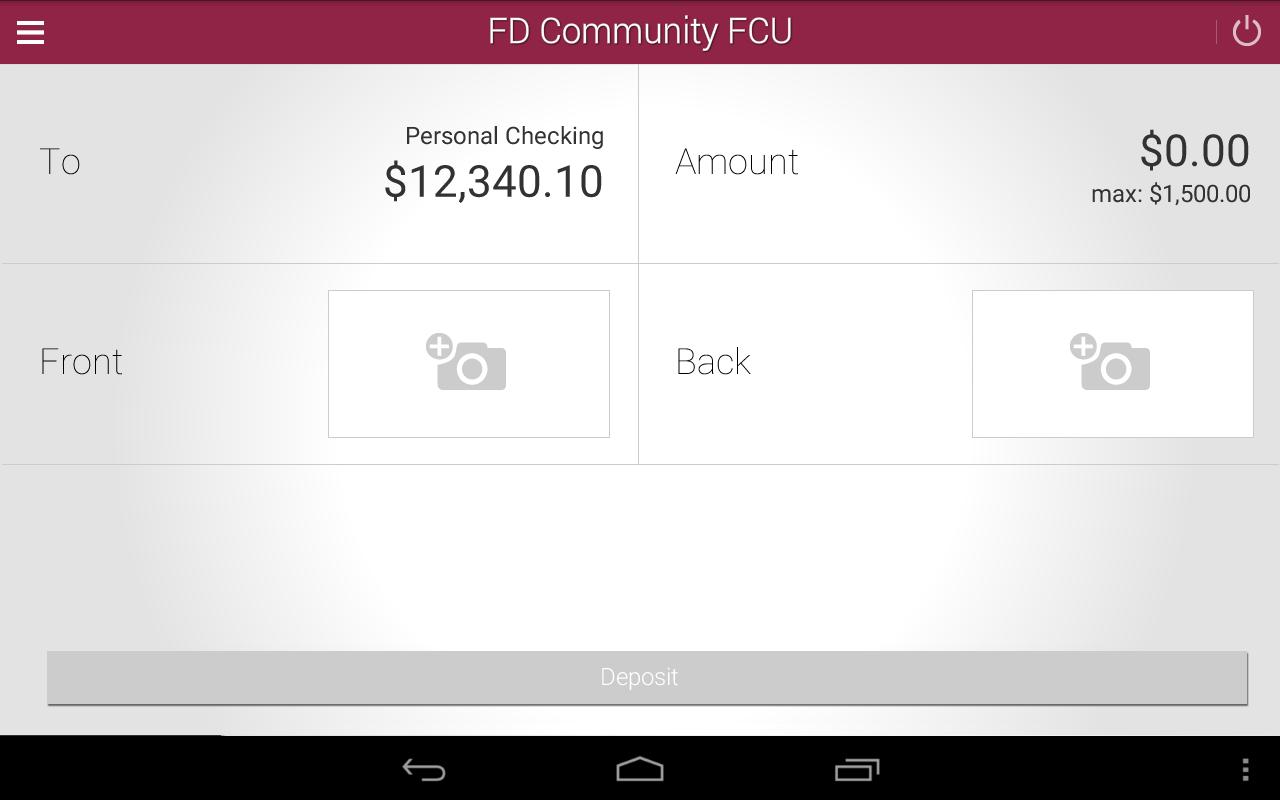 FD Community FCU Mobile- screenshot