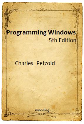 Programming Windows - 5th edition