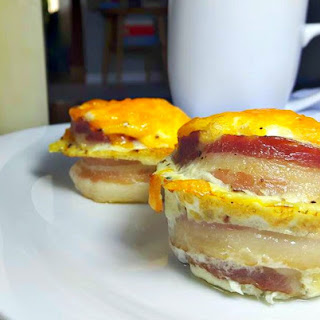 Canadian Bacon Egg Cups.