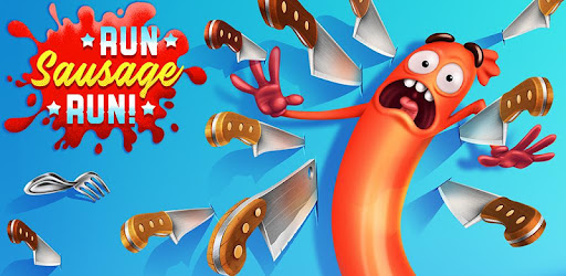 Run Sausage Run! game (apk) free download for Android/PC/Windows screenshot