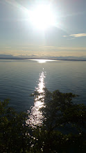 Photo: View on Lake Vättern, evening time.