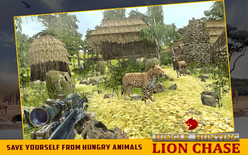 Jungle Hunting:Lion Chase