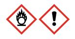 Nitrato de amonio pictograma de perigo