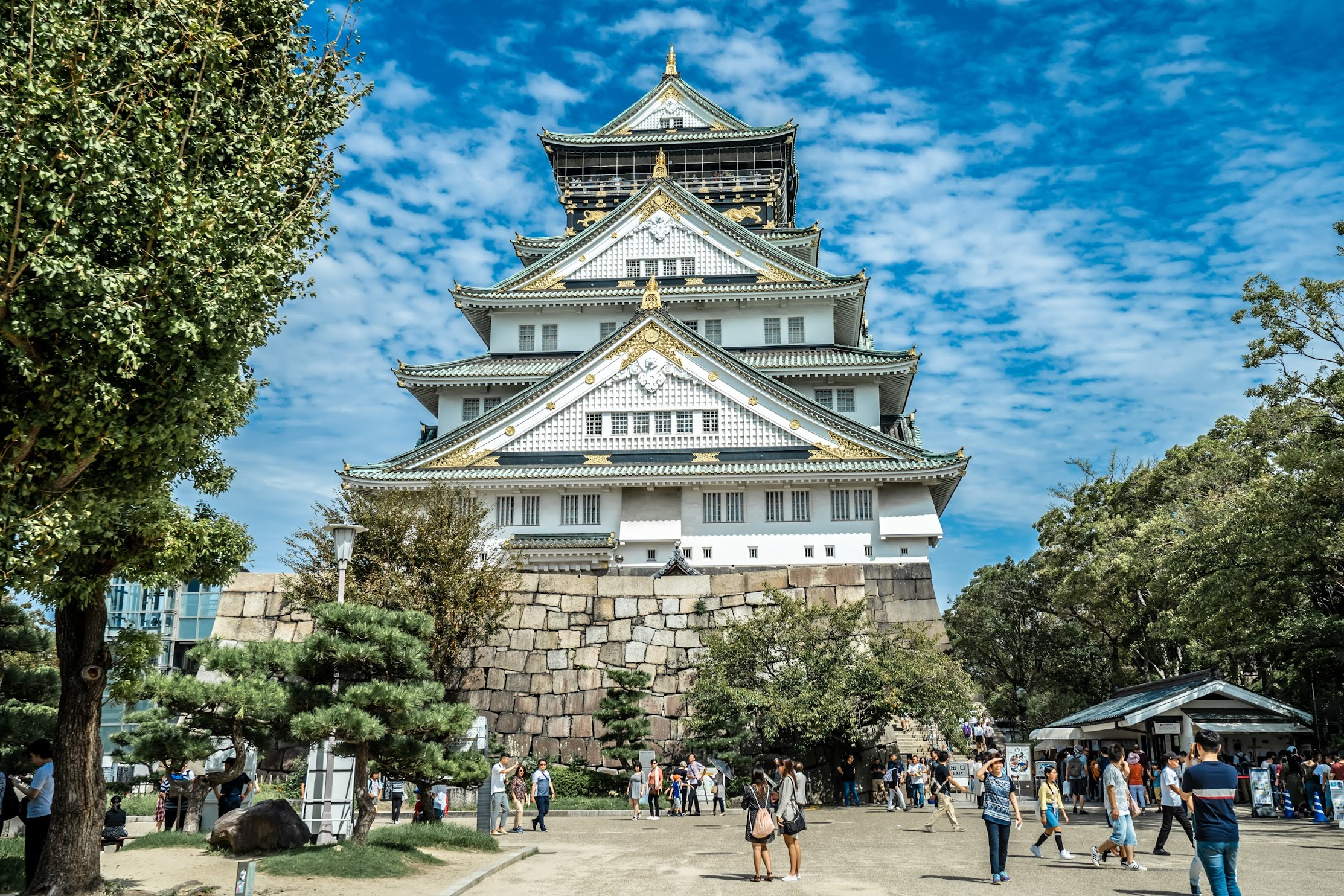 Osaka Castle Tower1