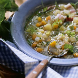 Grain and Mixed Vegetable Broth
