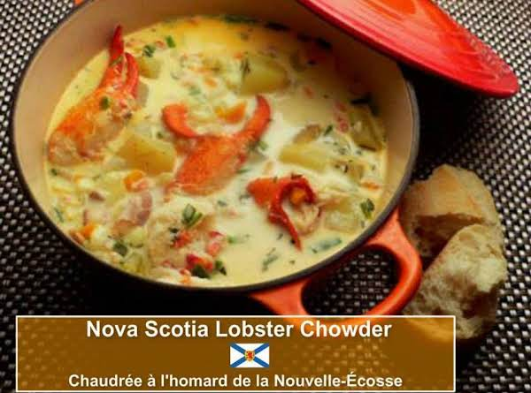 Nova Scotia Lobster Chowder Recipe