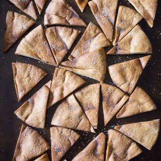 Cumin Spiced Pita Chips.