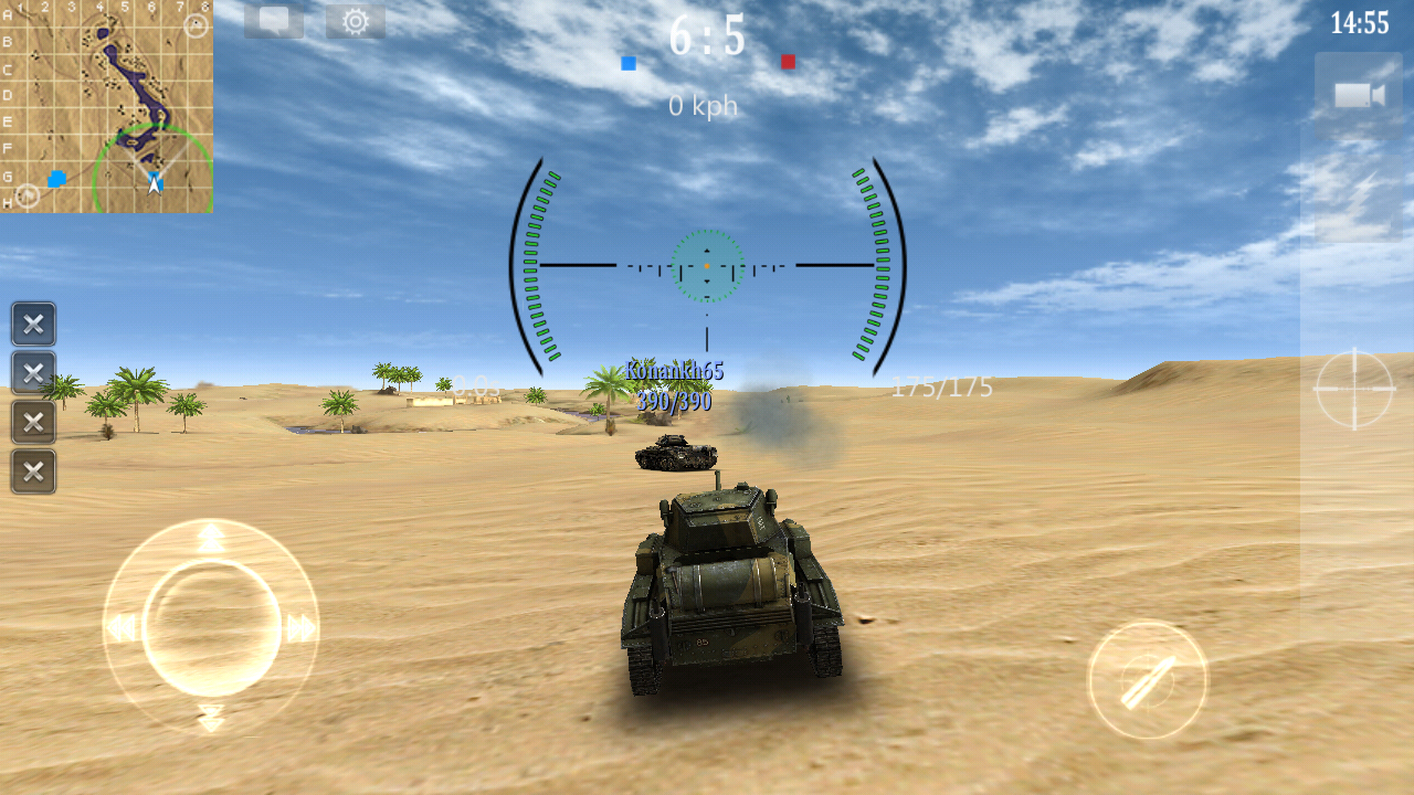 Armored aces 3d tank war online android apps on google for Online 3d