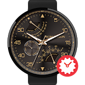 Aircraft watchface by Romanson