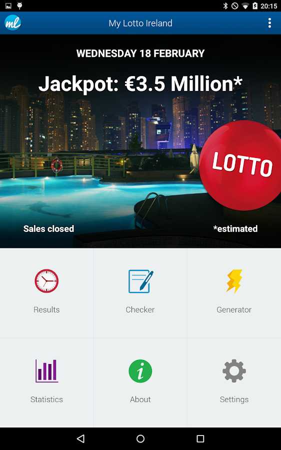 Irish Lottery (Lotto Ireland)- screenshot
