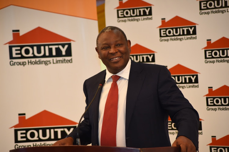 Equity Group MD and CEO James Mwangi