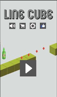 Line cube - náhled