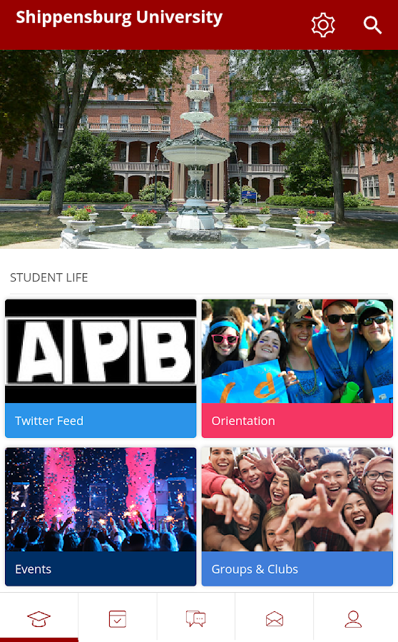 Ship New Student Orientation- screenshot